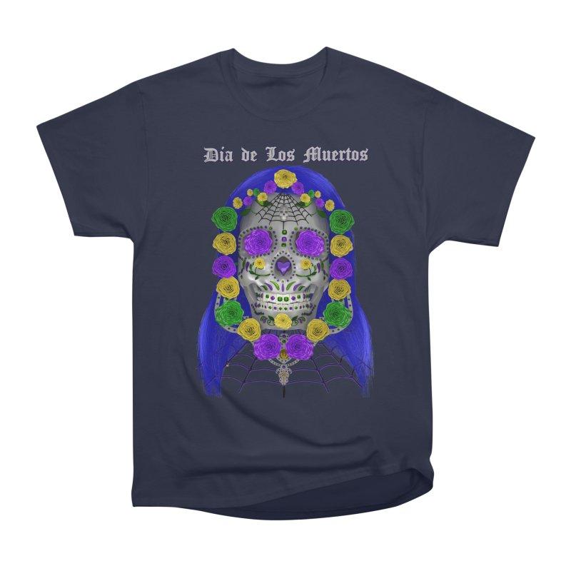 Sapphire's Web Women's Heavyweight Unisex T-Shirt by Armando Padilla Artist Shop