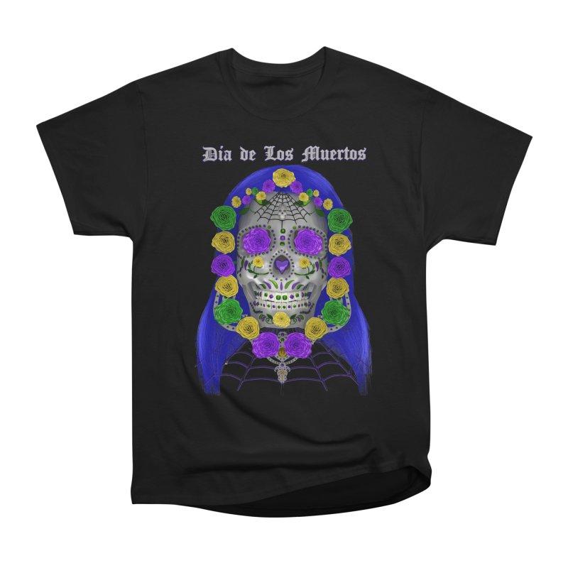 Sapphire's Web Men's Heavyweight T-Shirt by Armando Padilla Artist Shop