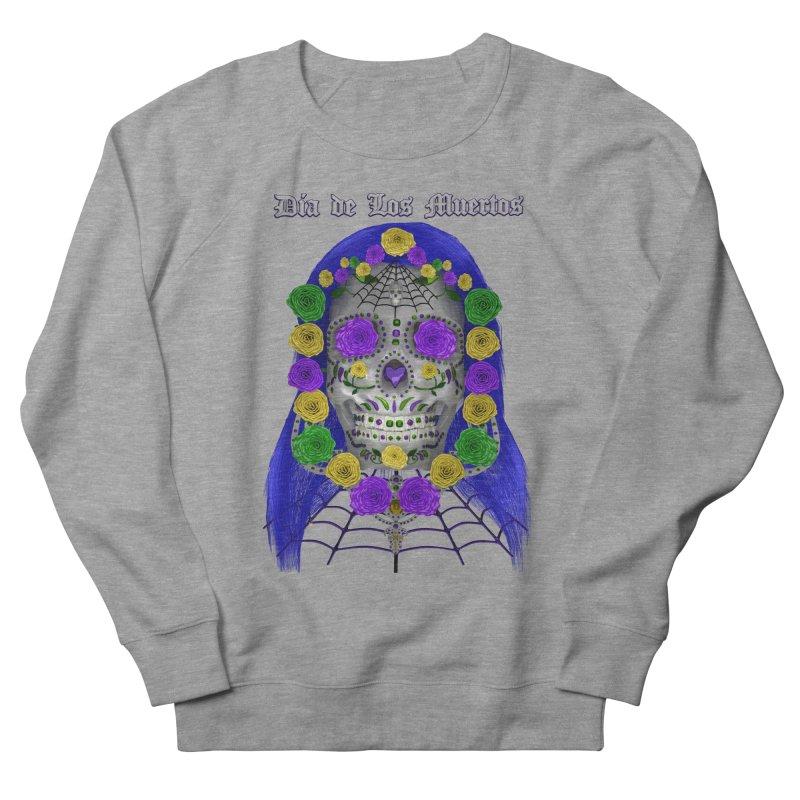 Sapphire's Web Women's French Terry Sweatshirt by Armando Padilla Artist Shop