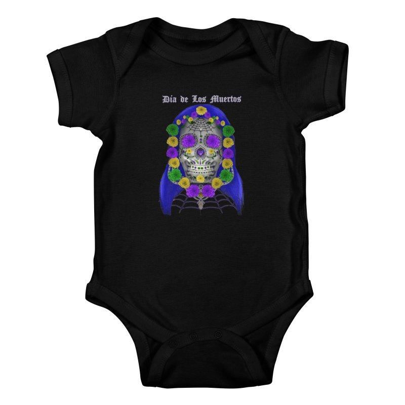Sapphire's Web Kids Baby Bodysuit by Armando Padilla Artist Shop