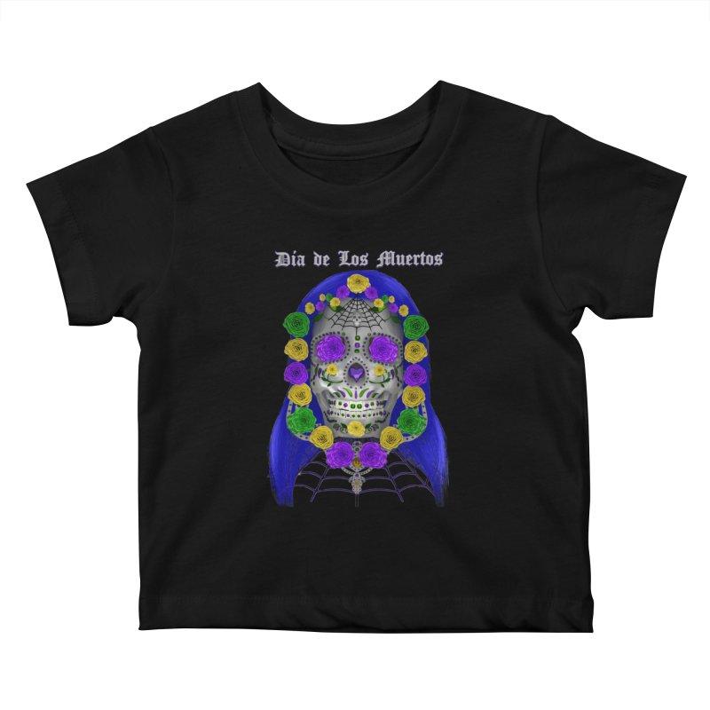 Sapphire's Web Kids Baby T-Shirt by Armando Padilla Artist Shop