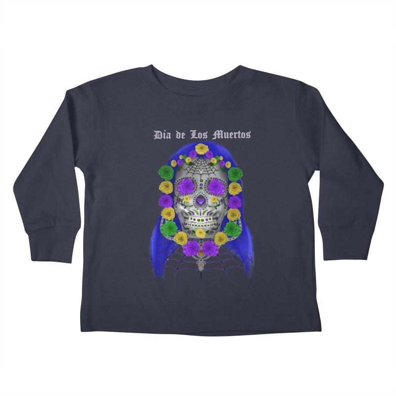 Sapphire's Web Kids Toddler Longsleeve T-Shirt by Armando Padilla Artist Shop