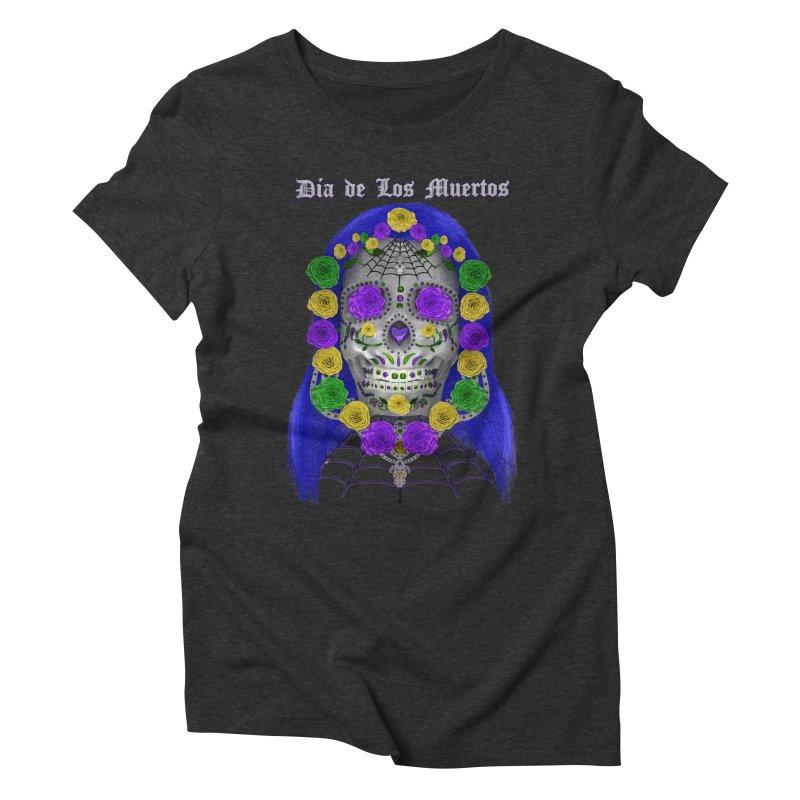 Sapphire's Web Women's Triblend T-Shirt by Armando Padilla Artist Shop