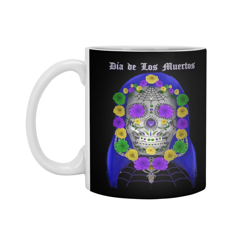 Sapphire's Web Accessories Mug by Armando Padilla Artist Shop