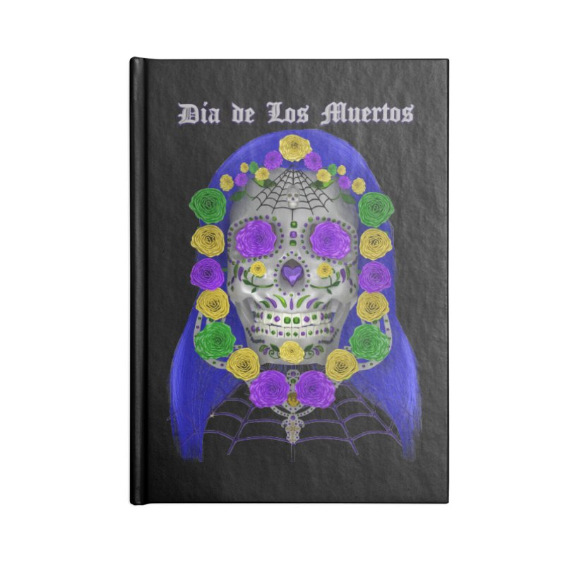 Sapphire's Web Accessories Notebook by Armando Padilla Artist Shop