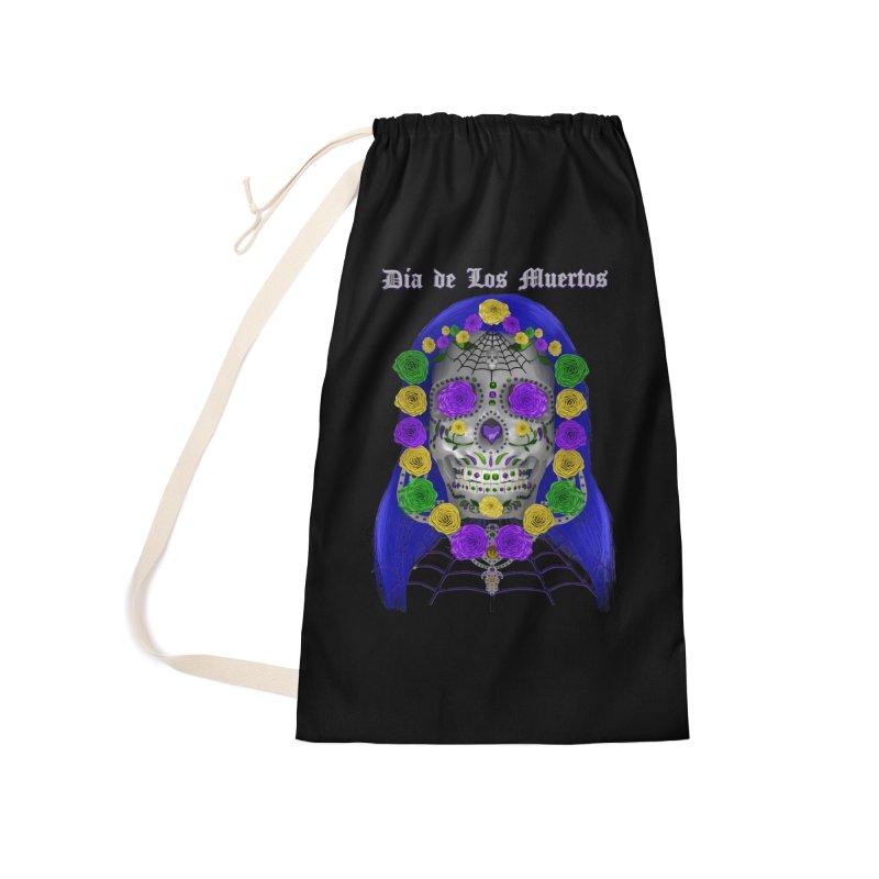Sapphire's Web Accessories Bag by Armando Padilla Artist Shop