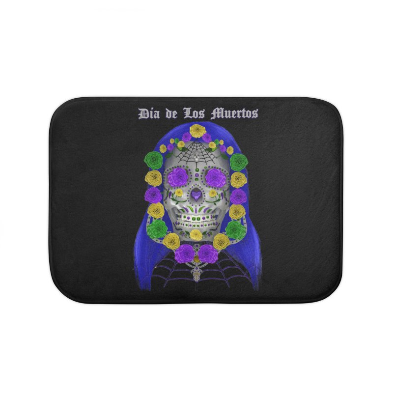 Sapphire's Web Home Bath Mat by Armando Padilla Artist Shop