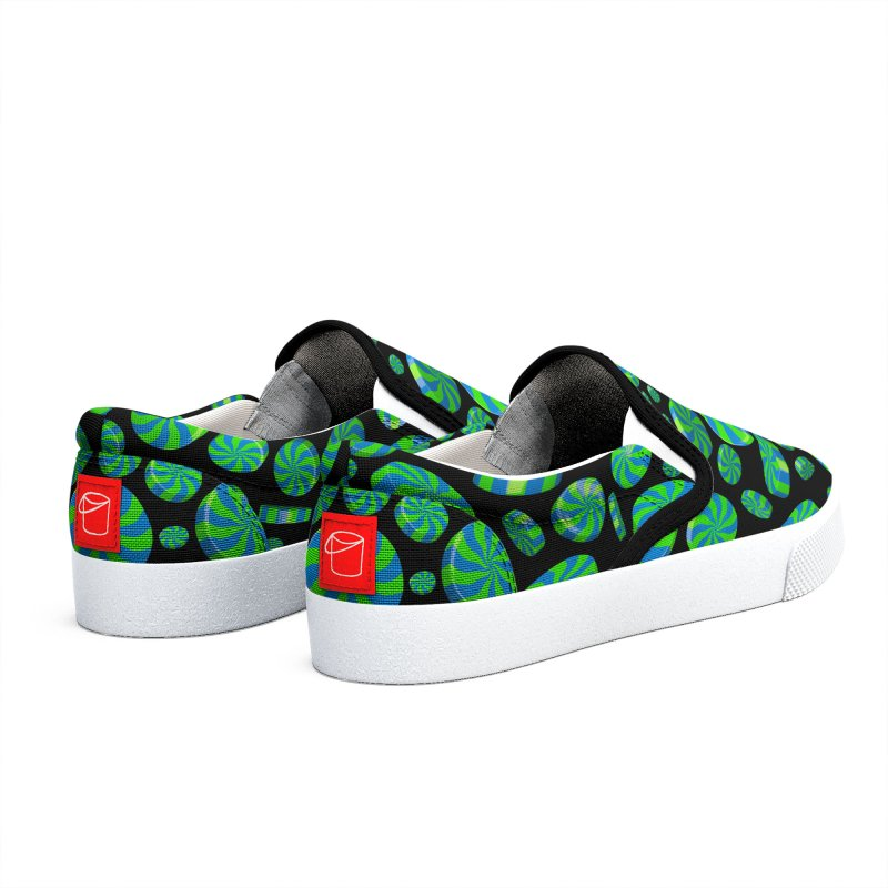 Apple Sky Peppermint Men's Shoes by Armando Padilla Artist Shop