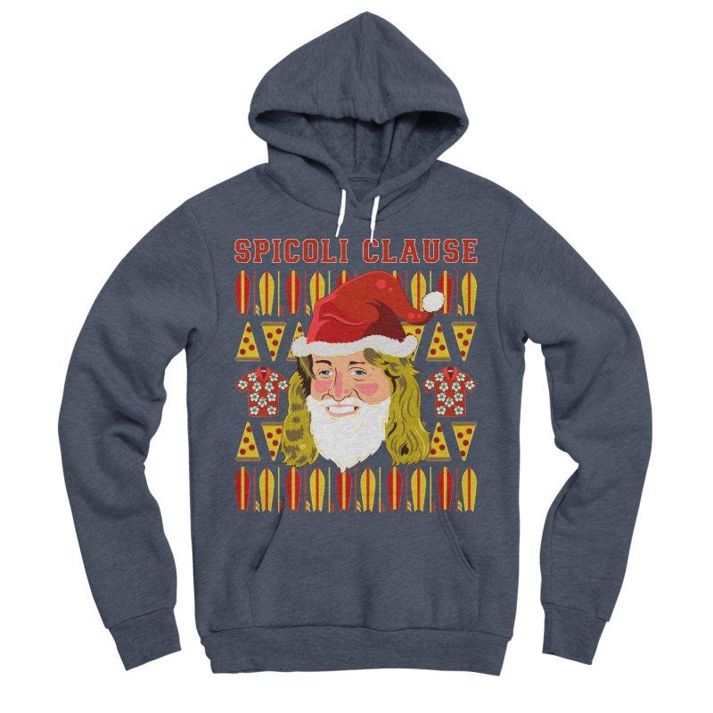 Spicoli Clause Men's Sponge Fleece Pullover Hoody by Armando Padilla Artist Shop
