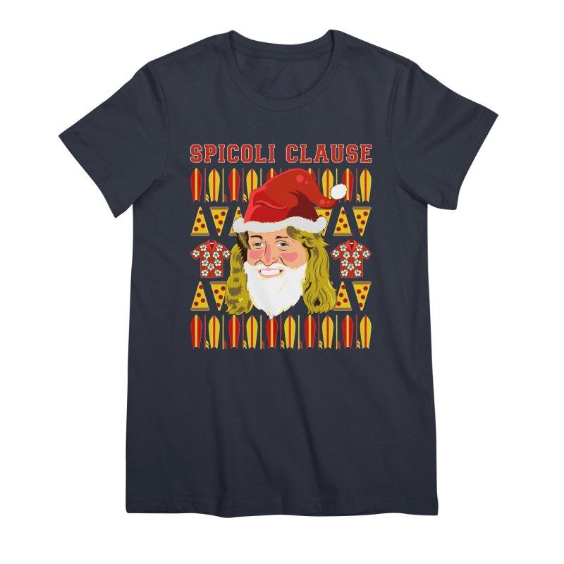 Spicoli Clause Women's Premium T-Shirt by Armando Padilla Artist Shop