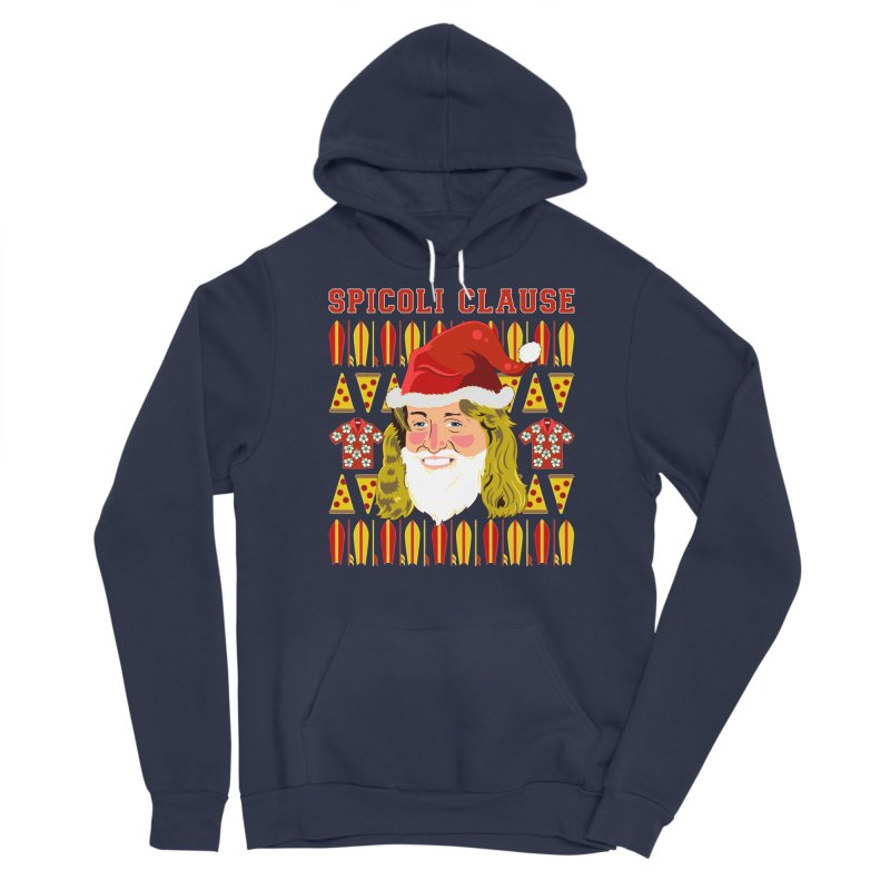 Spicoli Clause Men's Sponge Fleece Pullover Hoody by Armando Padilla Artist Shop