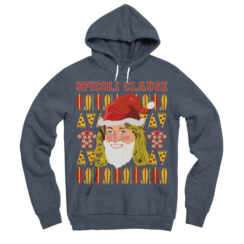 Spicoli Clause Women's Sponge Fleece Pullover Hoody by Armando Padilla Artist Shop