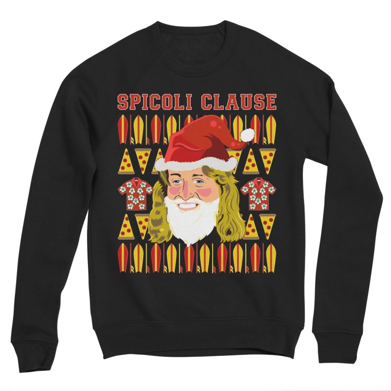Spicoli Clause Men's Sponge Fleece Sweatshirt by Armando Padilla Artist Shop