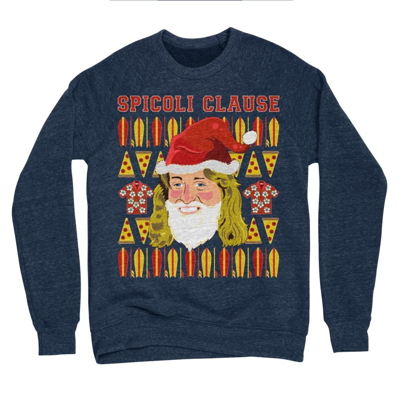 Spicoli Clause Women's Sponge Fleece Sweatshirt by Armando Padilla Artist Shop