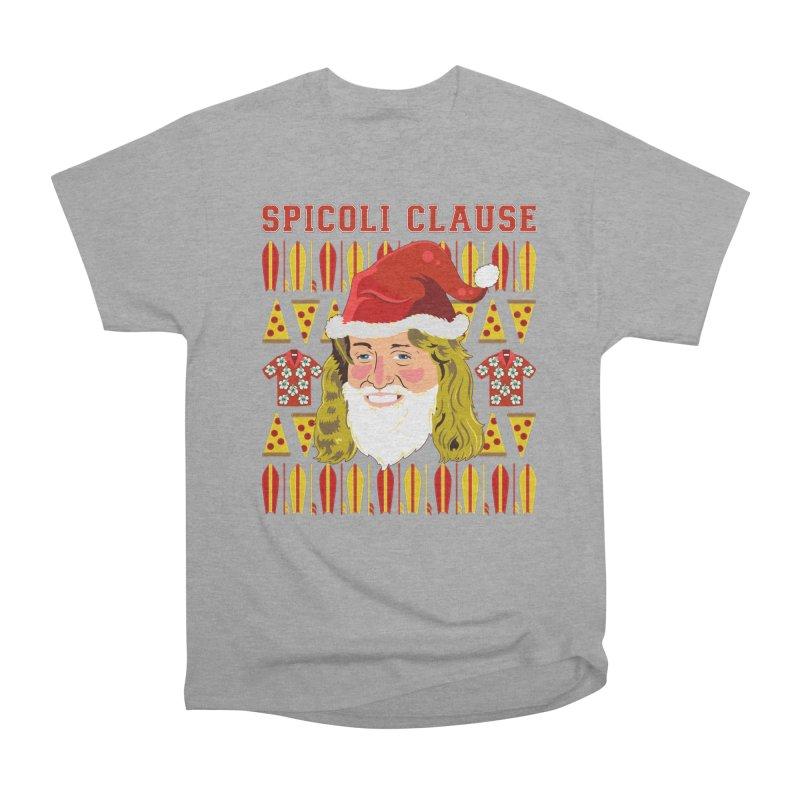 Spicoli Clause Women's Heavyweight Unisex T-Shirt by Armando Padilla Artist Shop