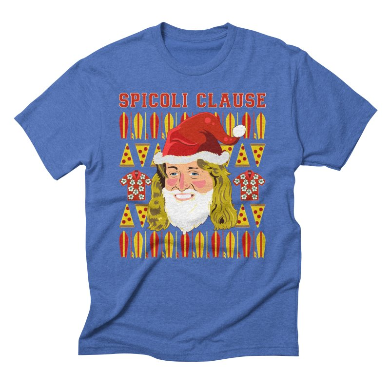 Spicoli Clause Men's Triblend T-Shirt by Armando Padilla Artist Shop