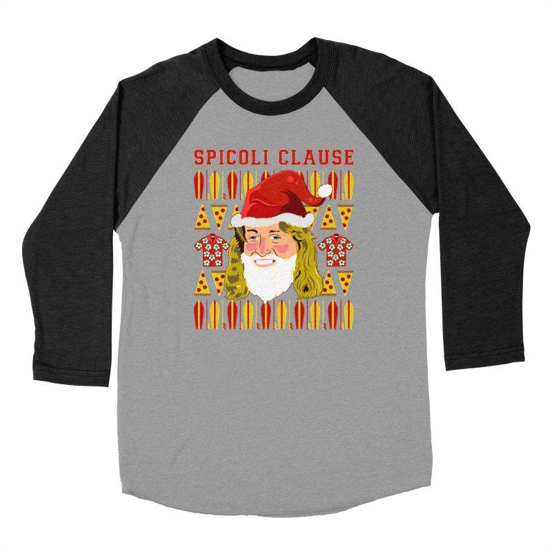 Spicoli Clause Women's Baseball Triblend Longsleeve T-Shirt by Armando Padilla Artist Shop