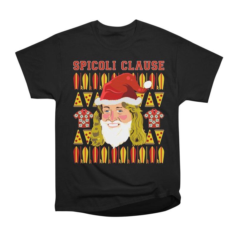 Spicoli Clause Men's Heavyweight T-Shirt by Armando Padilla Artist Shop