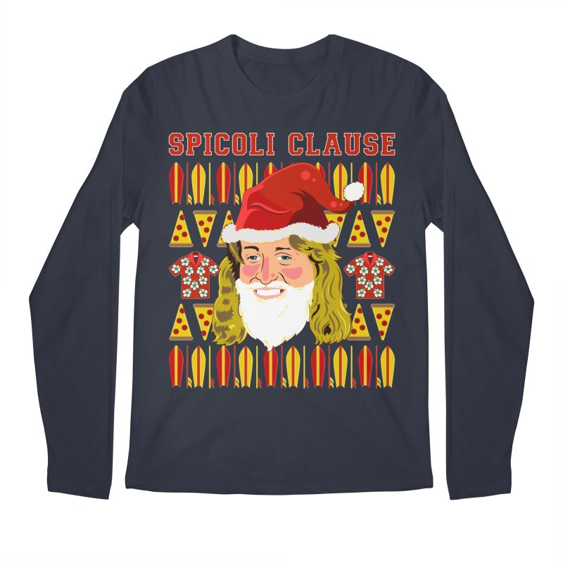 Spicoli Clause Men's Regular Longsleeve T-Shirt by Armando Padilla Artist Shop
