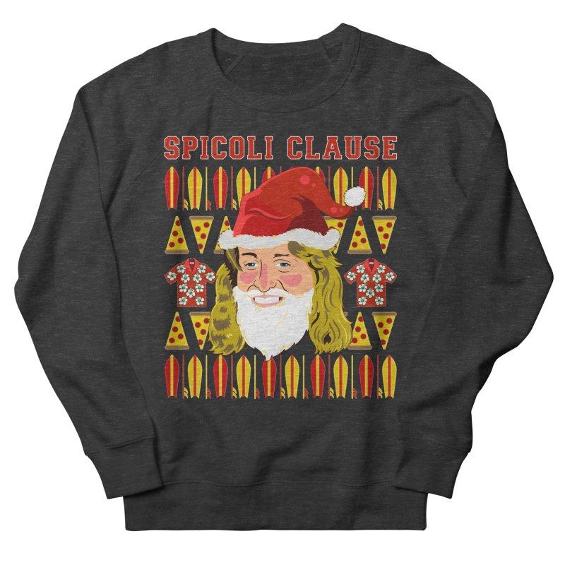 Spicoli Clause Men's French Terry Sweatshirt by Armando Padilla Artist Shop