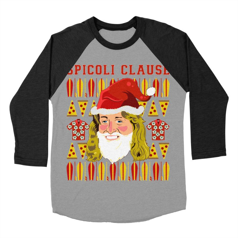 Spicoli Clause Men's Baseball Triblend Longsleeve T-Shirt by Armando Padilla Artist Shop