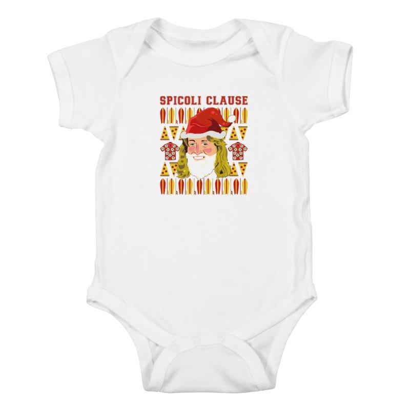 Spicoli Clause Kids Baby Bodysuit by Armando Padilla Artist Shop