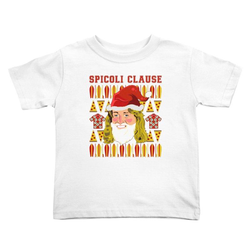 Spicoli Clause Kids Toddler T-Shirt by Armando Padilla Artist Shop