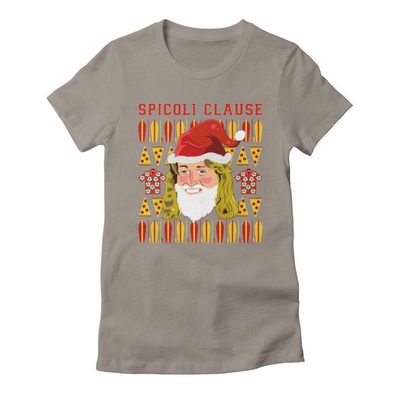 Spicoli Clause Women's T-Shirt by Armando Padilla Artist Shop