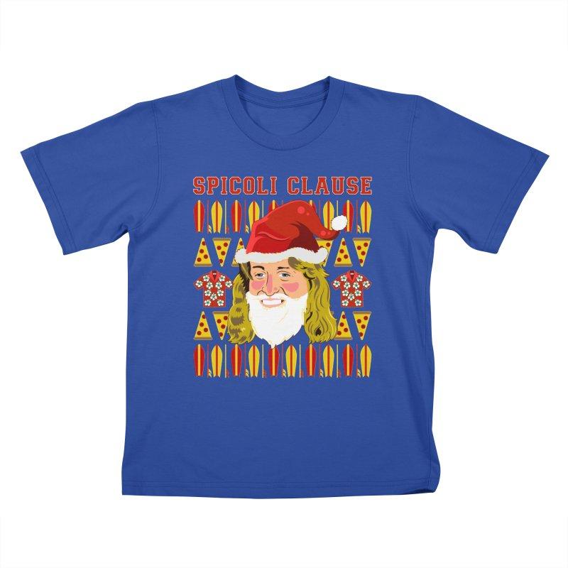 Spicoli Clause Kids T-Shirt by Armando Padilla Artist Shop