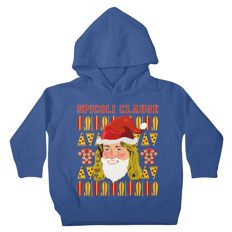 Spicoli Clause Kids Toddler Pullover Hoody by Armando Padilla Artist Shop