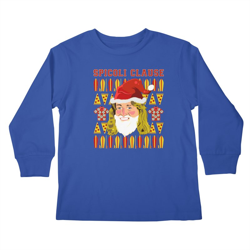 Spicoli Clause Kids Longsleeve T-Shirt by Armando Padilla Artist Shop