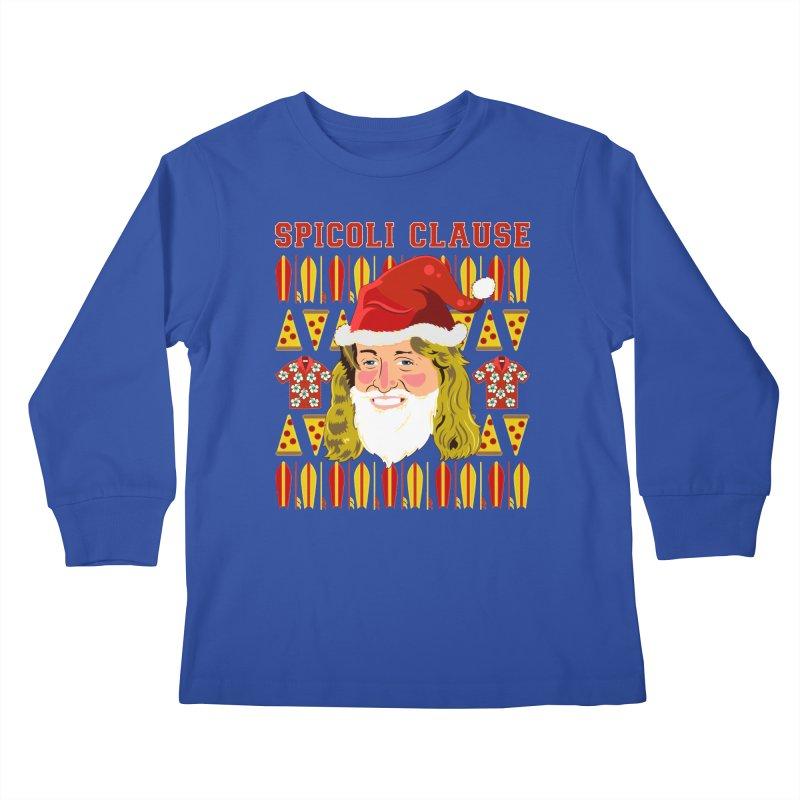 Spicoli Clause Kids Longsleeve T-Shirt by Armando Padilla Artist Shop