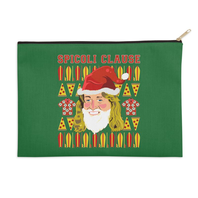 Spicoli Clause Accessories Zip Pouch by Armando Padilla Artist Shop