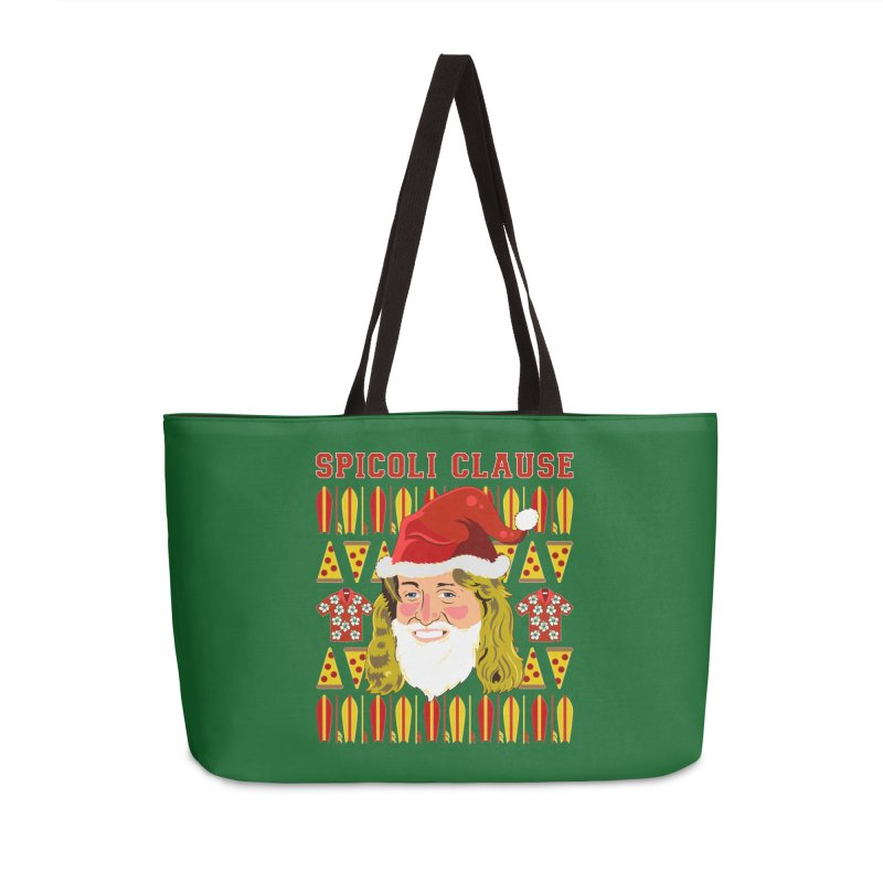 Spicoli Clause Accessories Weekender Bag Bag by Armando Padilla Artist Shop