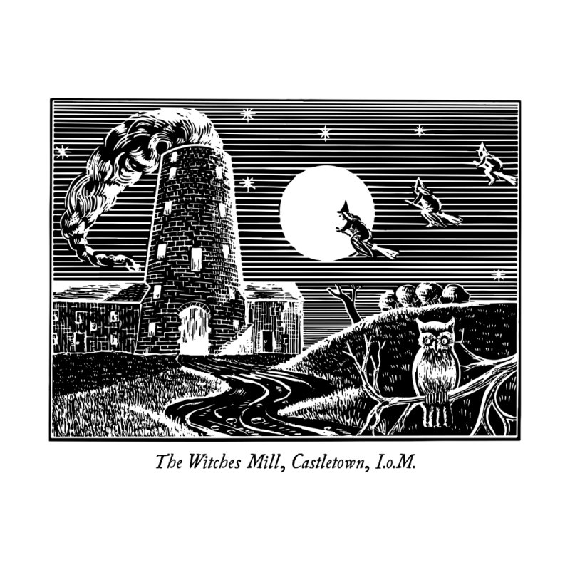 The Witches Mill, Castletown Home Framed Fine Art Print by Mandragora Magika