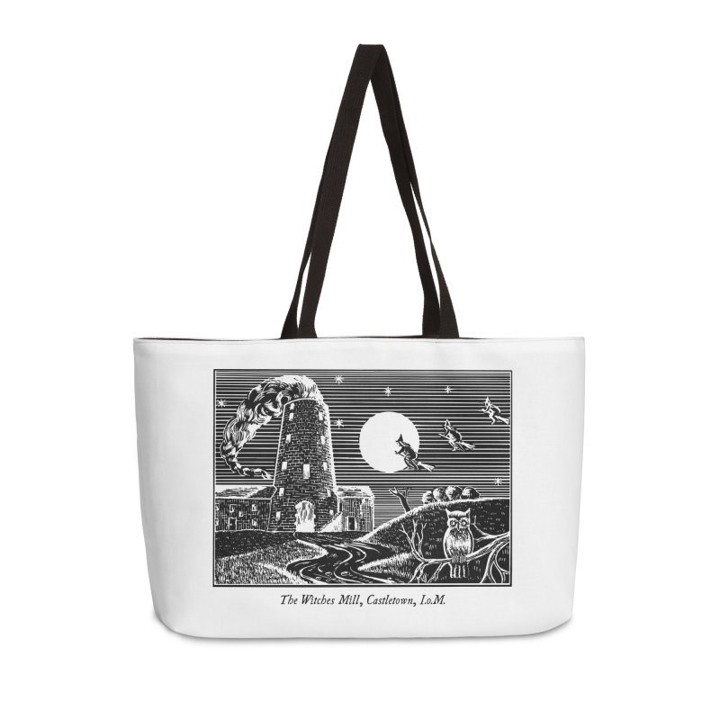 The Witches Mill, Castletown Accessories Weekender Bag Bag by Mandragora Magika