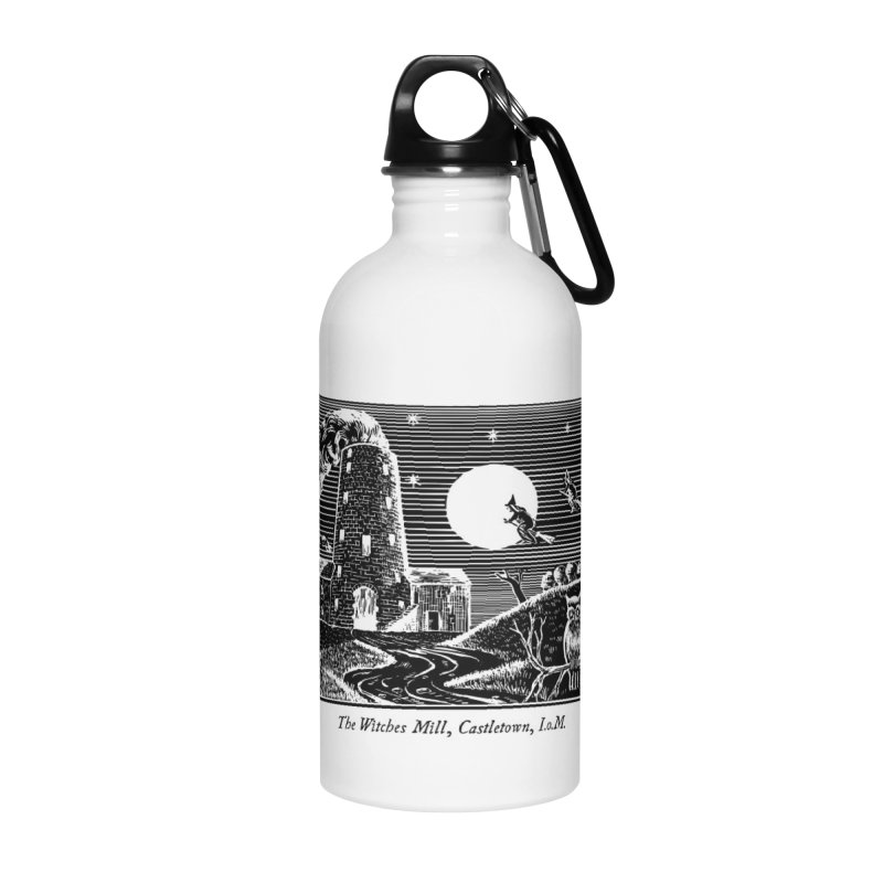 The Witches Mill, Castletown Accessories Water Bottle by Mandragora Magika