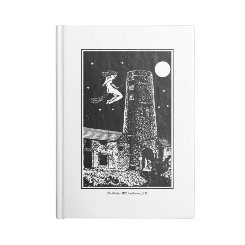 The Witches Mill Accessories Blank Journal Notebook by Mandragora Magika