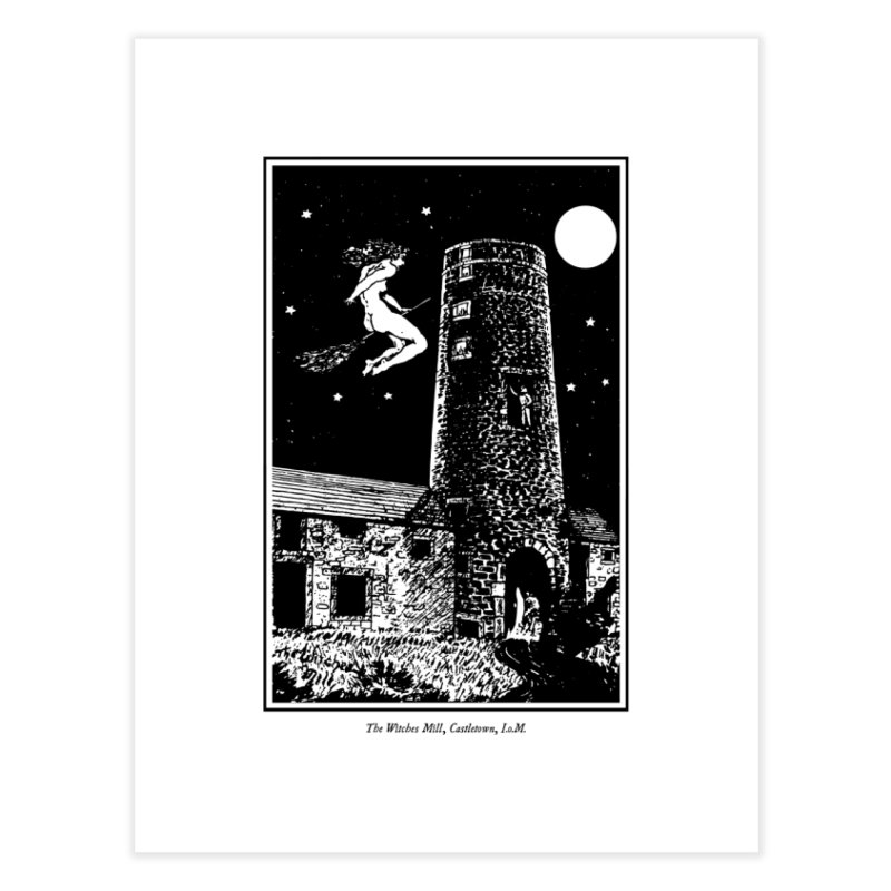 The Witches Mill Home Fine Art Print by Mandragora Magika