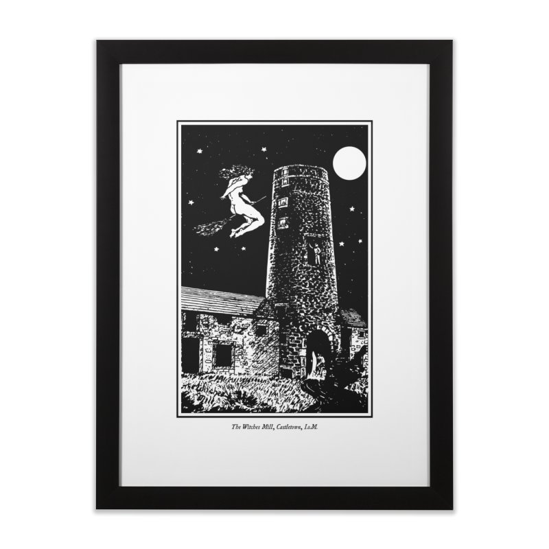The Witches Mill Home Framed Fine Art Print by Mandragora Magika
