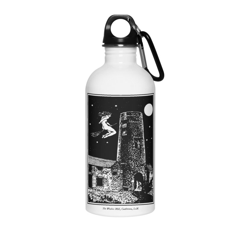 The Witches Mill Accessories Water Bottle by Mandragora Magika
