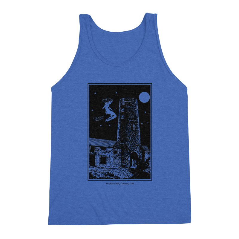 The Witches Mill Men's Triblend Tank by Mandragora Magika