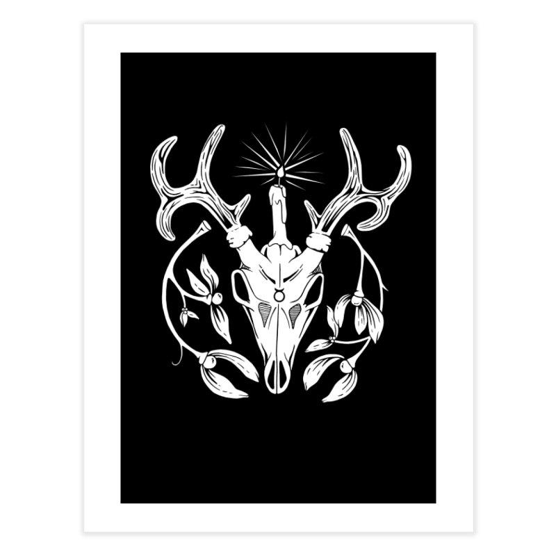 The Yule God Home Fine Art Print by Mandragora Magika