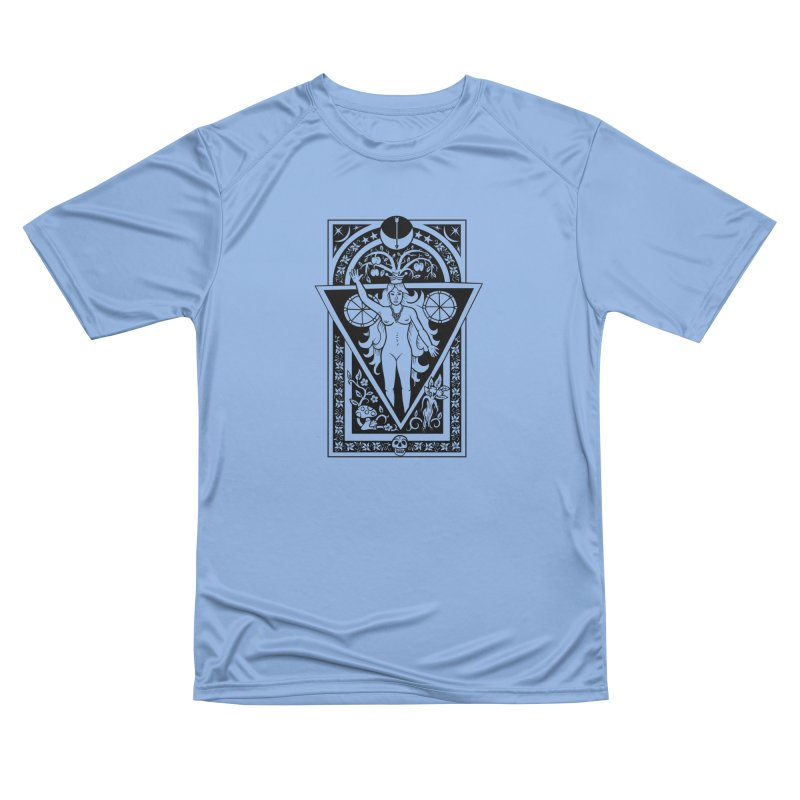Goddess of the Moon Men's Performance T-Shirt by Mandragora Magika
