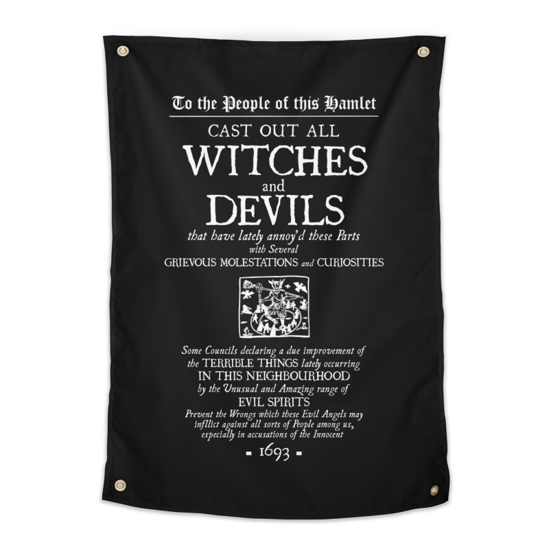 Cast out all Witches and Devils Home Tapestry by Mandragora Magika