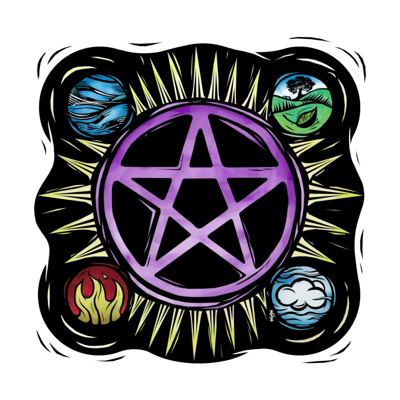 Elemental Pentagram by Mandragora Magika