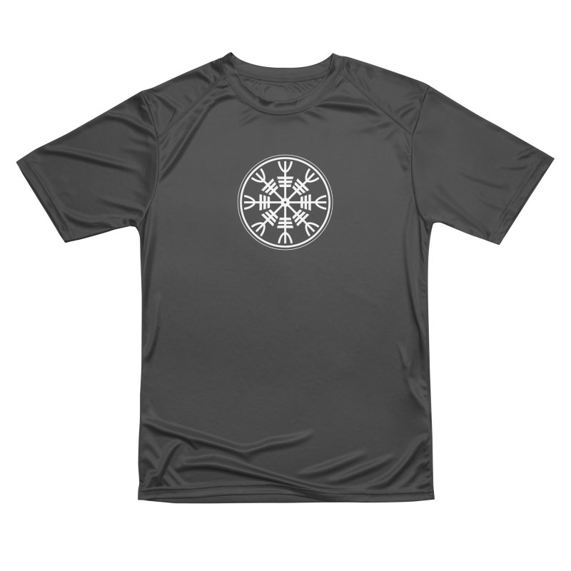 Aegishjalmr/Aegishjalmur, The Helm of Awe Viking Symbol Women's Performance Unisex T-Shirt by Mandragora Magika