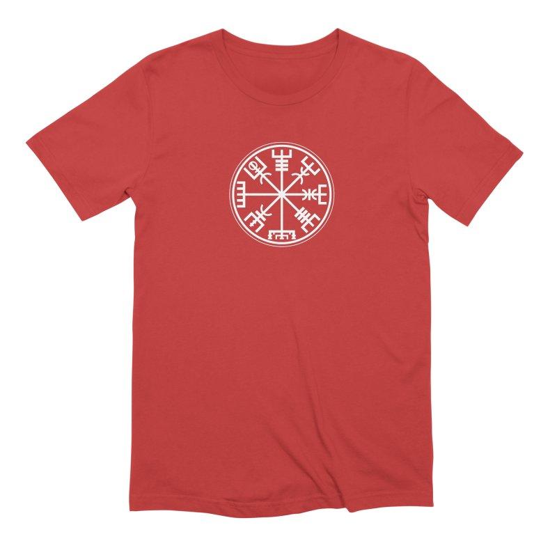 "Vegvisir ""That Which Shows the Way"" Viking Symbol Men's Extra Soft T-Shirt by Mandragora Magika"