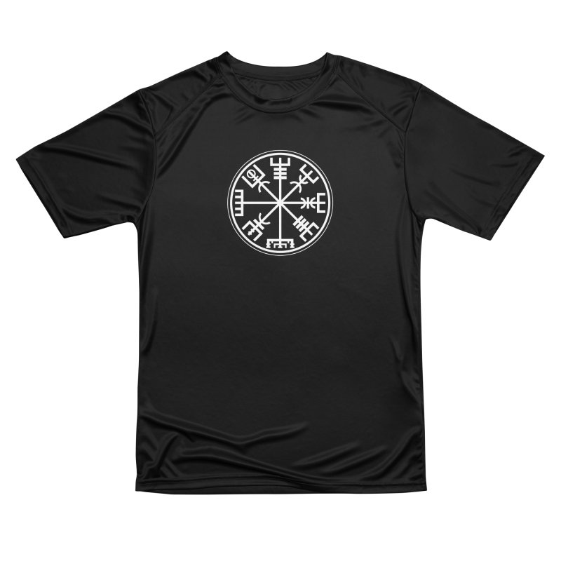 "Vegvisir ""That Which Shows the Way"" Viking Symbol Women's Performance Unisex T-Shirt by Mandragora Magika"