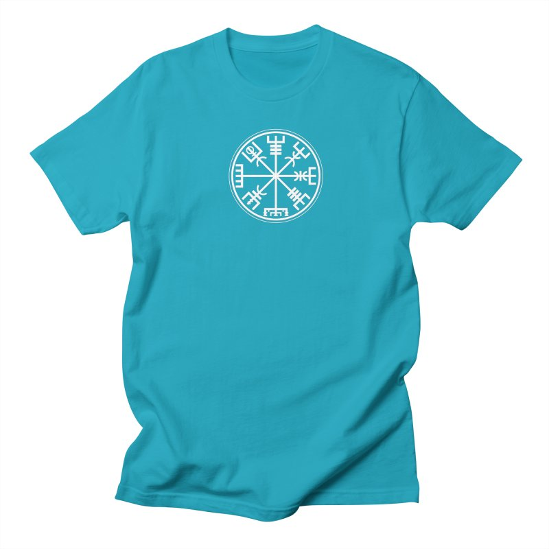"Vegvisir ""That Which Shows the Way"" Viking Symbol Men's Regular T-Shirt by Mandragora Magika"